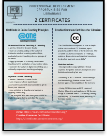 thumbnail graphic of PDF handout on the certificates.