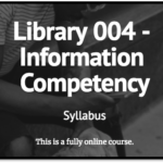 graphic link to Library 4 syllabus